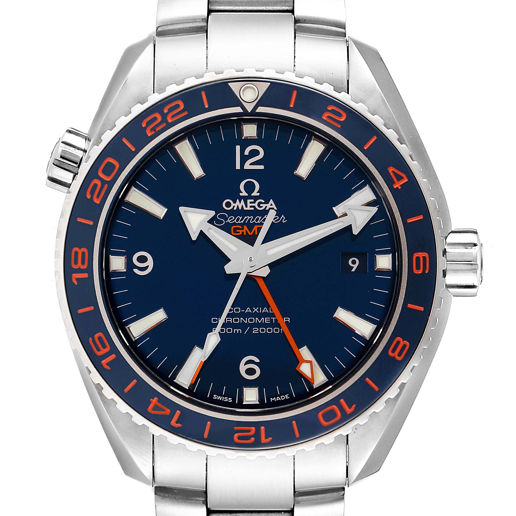 Omega Seamaster Planet Ocean GMT GoodPlanet Mens Watch 232.30.44.22.03.001