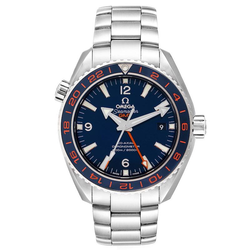 Omega Seamaster Planet Ocean GMT GoodPlanet Mens Watch 232.30.44.22.03.001 SwissWatchExpo