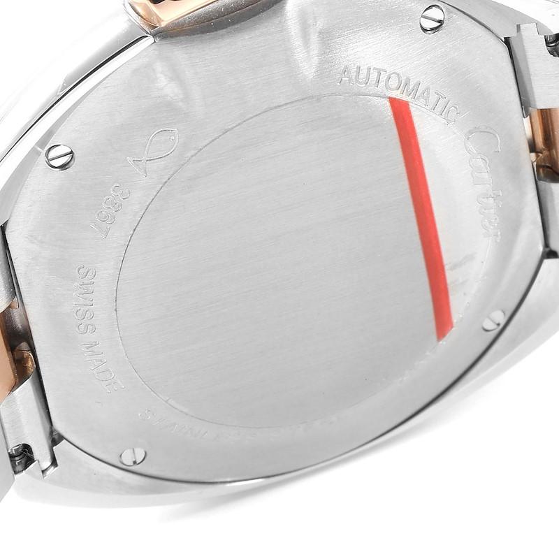 Cartier Cle Steel Rose Gold Automatic Ladies Watch W2CL0004 Unworn  SwissWatchExpo