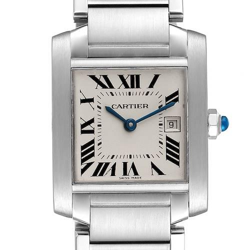 Photo of Cartier Tank Francaise Midsize 25mm Ladies Watch W51011Q3