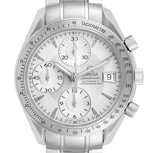 Photo of Omega Speedmaster Silver Dial Chronograph Mens Watch 3211.30.00 Card