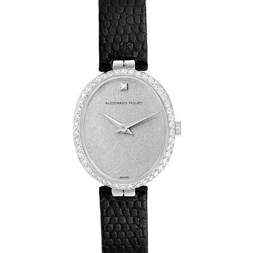Photo of Audemars Piguet Vintage 18k White Gold Diamond Ladies Watch 7073BC