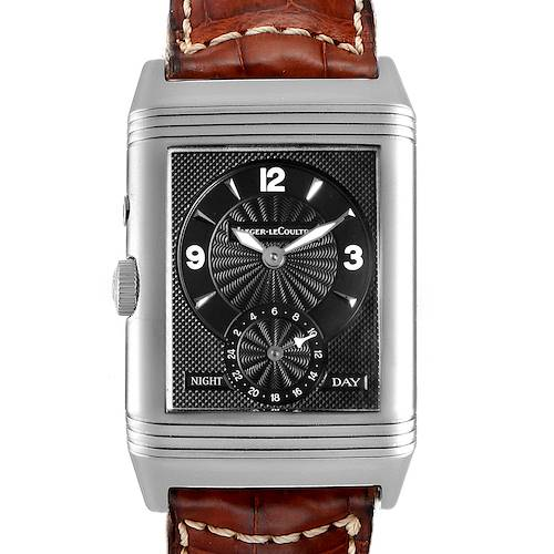 Photo of Jaeger LeCoultre Reverso Duo Day Night Steel Watch 270.8.54 Q270854
