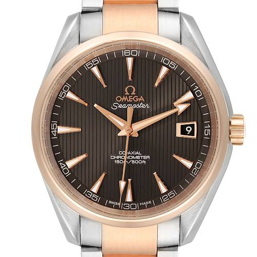 Photo of Omega Seamaster Aqua Terra Steel Rose Gold Watch 231.20.42.21.06.001