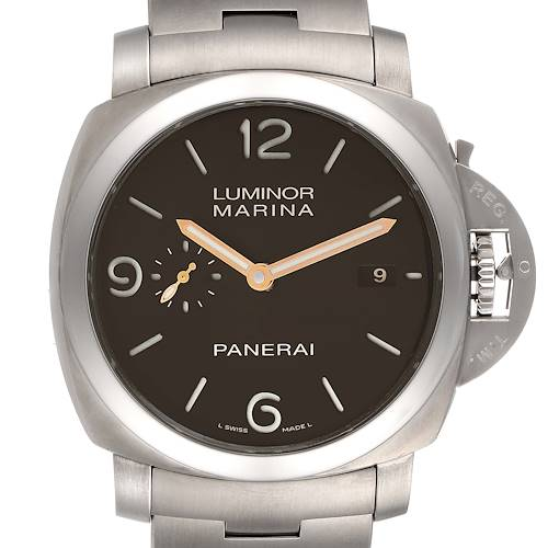 Panerai Luminor Marina 1950 3 Days Titanium 44mm Watch PAM00352