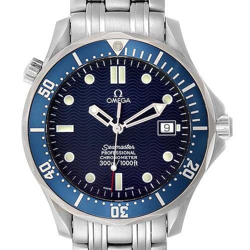 Photo of Omega Seamaster 300M Automatic Steel Mens Watch 2531.80.00 Card