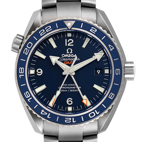 Photo of Omega Seamaster Planet Ocean GMT 44mm Watch 232.90.44.22.03.001 Box Card
