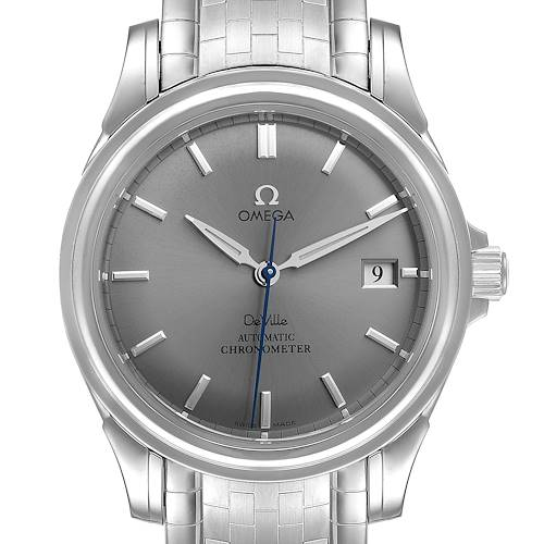 Photo of Omega DeVille Co-Axial Chronometer Steel Mens Watch 4531.40.00 Card