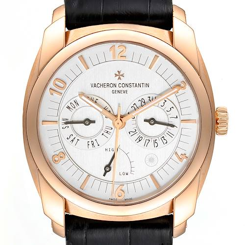 Photo of Vacheron Constantin Quai De L'ile Day Date Power Reserve Rose Gold Watch 85050