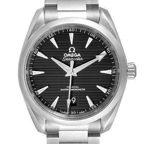 Photo of Omega Seamaster Aqua Terra Black Dial Watch 220.10.38.20.01.001 Unworn