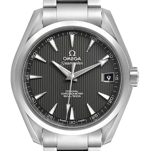 Photo of Omega Seamaster Aqua Terra Grey Dial Mens Watch 231.10.39.21.06.001