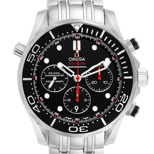 Photo of Omega Seamaster James Bond 007 Steel Mens Watch 212.30.44.50.01.001