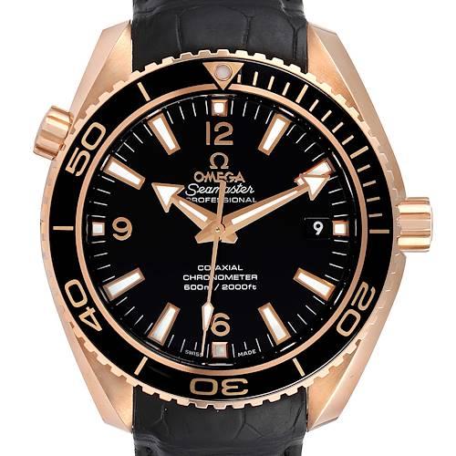 Photo of Omega Seamaster Planet Ocean 18k Rose Gold Watch 232.63.42.21.01.001 Unworn