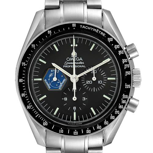 Photo of Omega Speedmaster Professional Gemini 4 Mens Watch 3597.04.00 Box Card