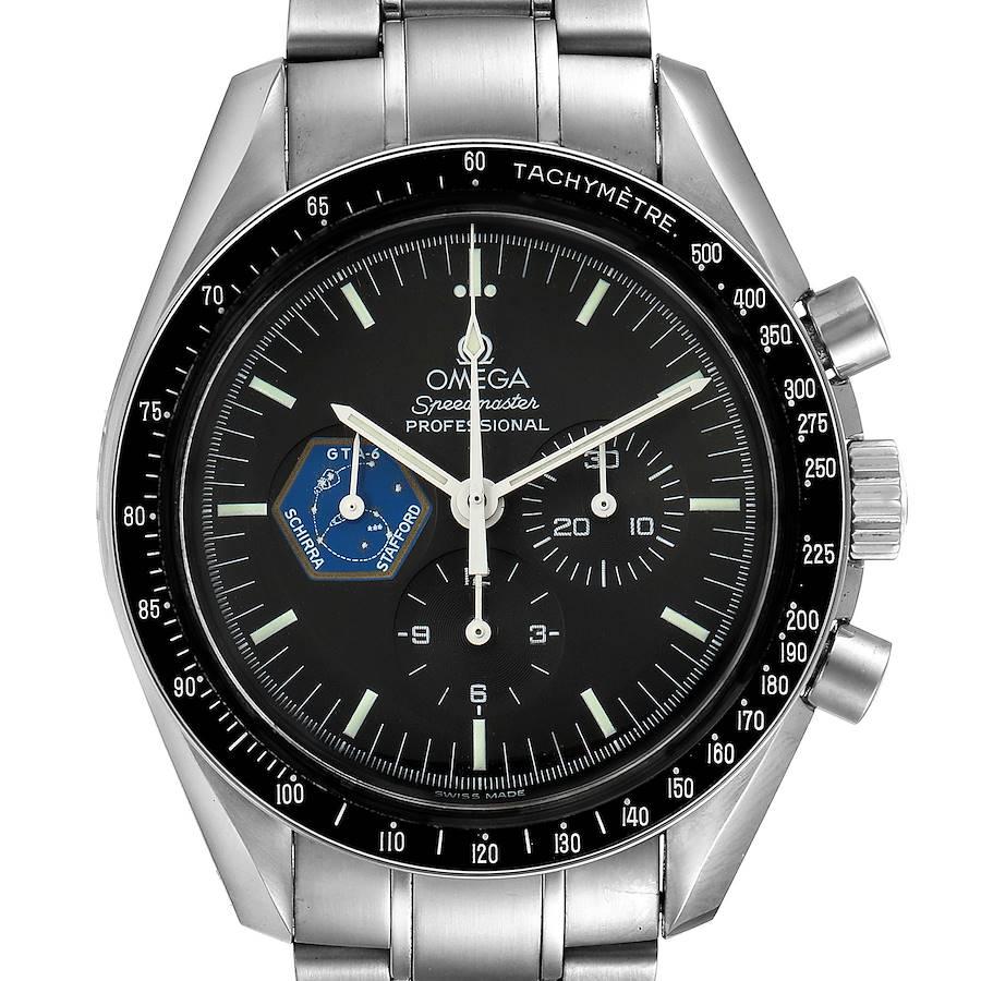 Omega Speedmaster Professional Gemini 4 Mens Watch 3597.04.00 Box Card SwissWatchExpo