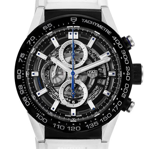 Photo of TAG Heuer Carrera Calibre Heuer 01 Skeleton Mens Watch CAR2A1T