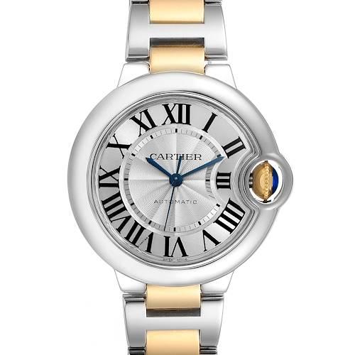 Photo of Cartier Ballon Bleu Steel Yellow Gold Automatic Ladies Watch W2BB0002