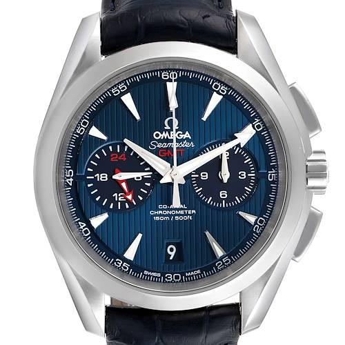 Photo of Omega Seamaster Aqua Terra GMT Mens Watch 231.13.43.52.03.001 Box Card