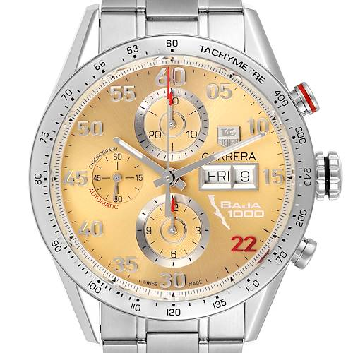 Photo of Tag Heuer Carrera Day-Date Champagne Dial Mens Watch CV2A1H