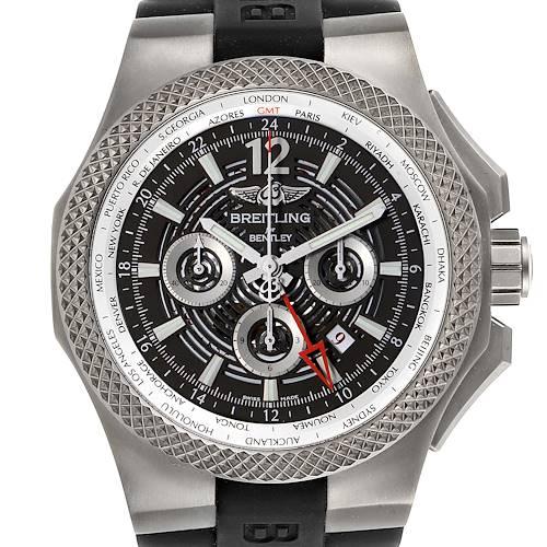 Photo of Breitling Bentley GMT Light Body Grey Dial Titanium Mens Watch EB0432 Unworn