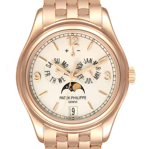 Photo of Patek Philippe Complicated Annual Calendar Rose Gold Watch 5146 Box Papers