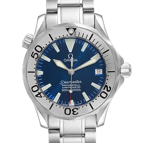 Photo of Omega Seamaster Midsize 300M Blue Dial Steel Mens Watch 2253.80.00