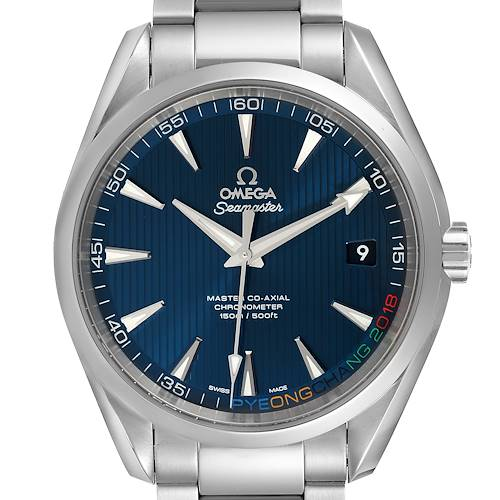Photo of Omega Seamaster Aqua Terra Olympic Edition Watch 522.10.42.21.03.001 Unworn