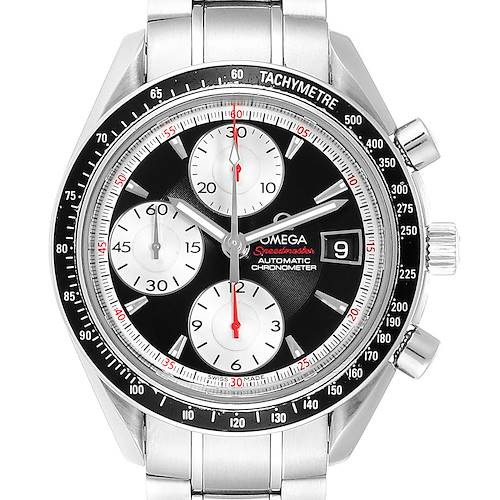 Photo of Omega Speedmaster Date 40 Black Dial Mens Watch 3210.51.00 Card