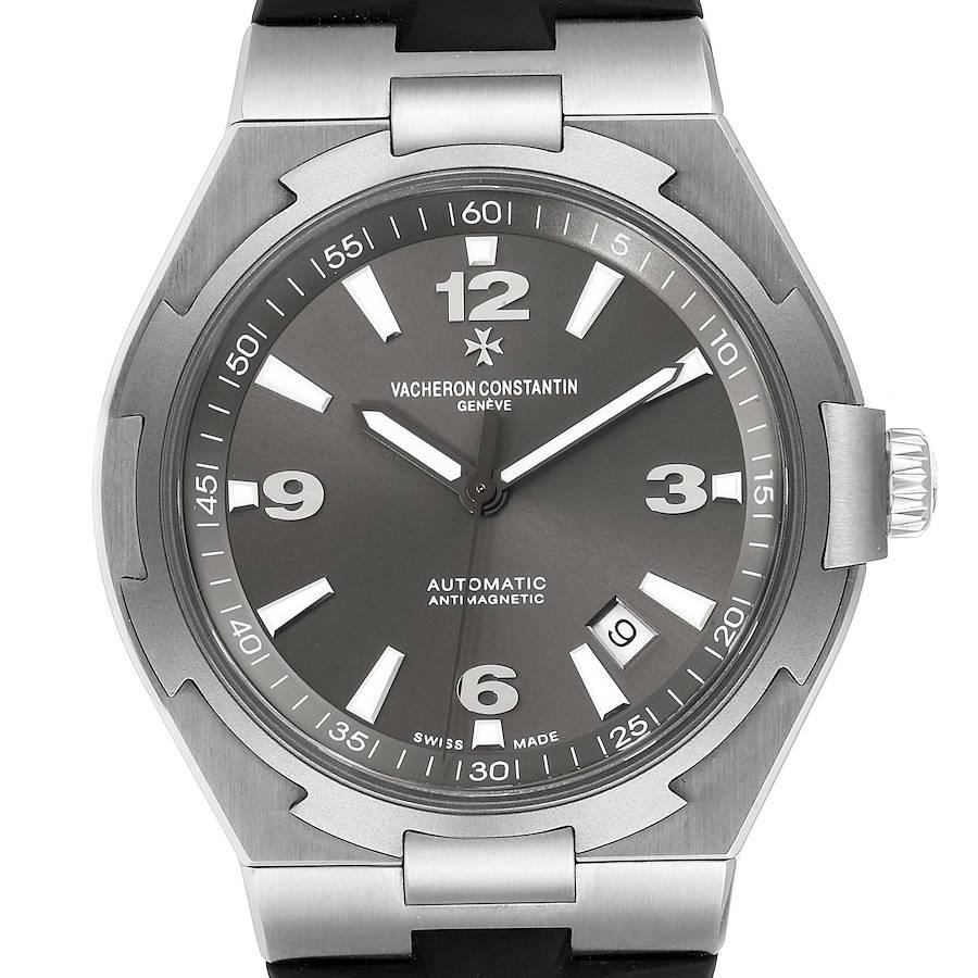 Vacheron Constantin Overseas Deep Stream Grey Dial Steel Mens Watch 47040 SwissWatchExpo