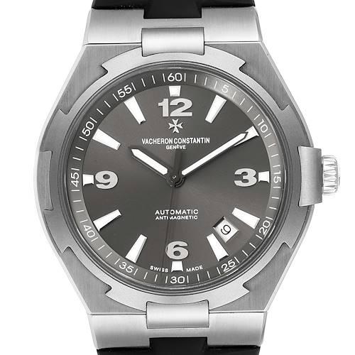 Photo of Vacheron Constantin Overseas Deep Stream Grey Dial Steel Mens Watch 47040