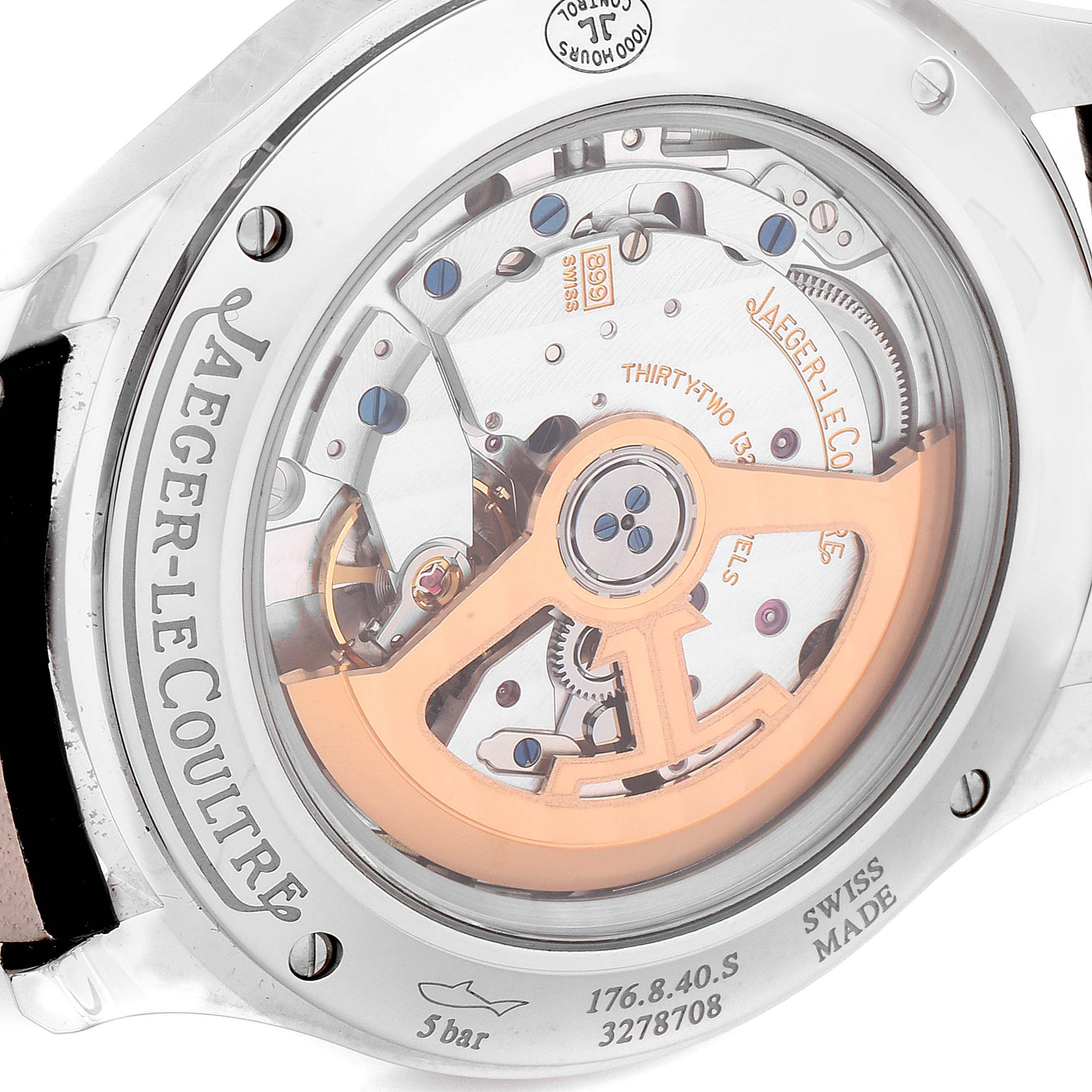 Jaeger Lecoultre Master Control Mens Watch 176.8.40.S Q1548420 Box Papers SwissWatchExpo