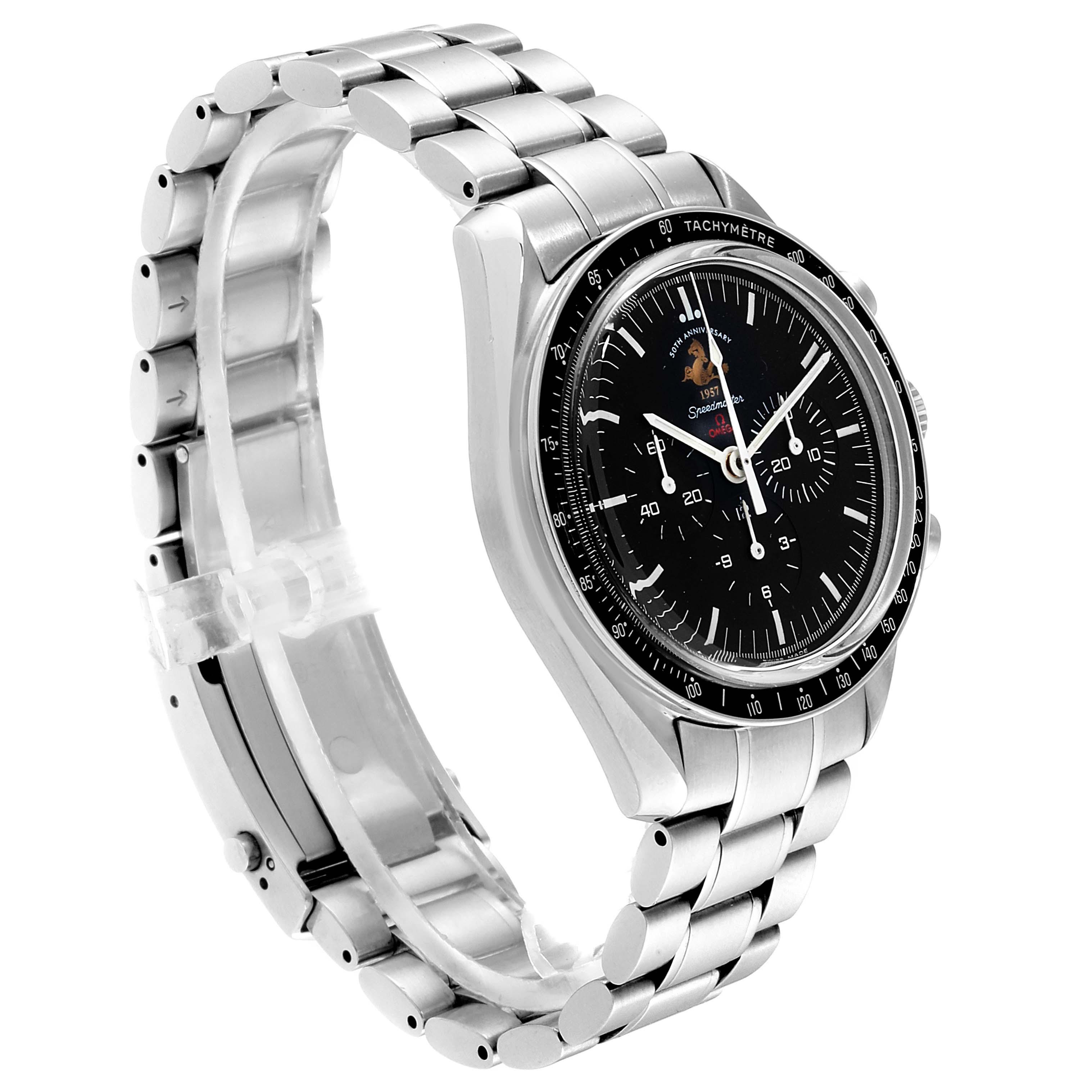 Omega Speedmaster 50th Anniversary MoonWatch 311.30.42.30.01.001 SwissWatchExpo