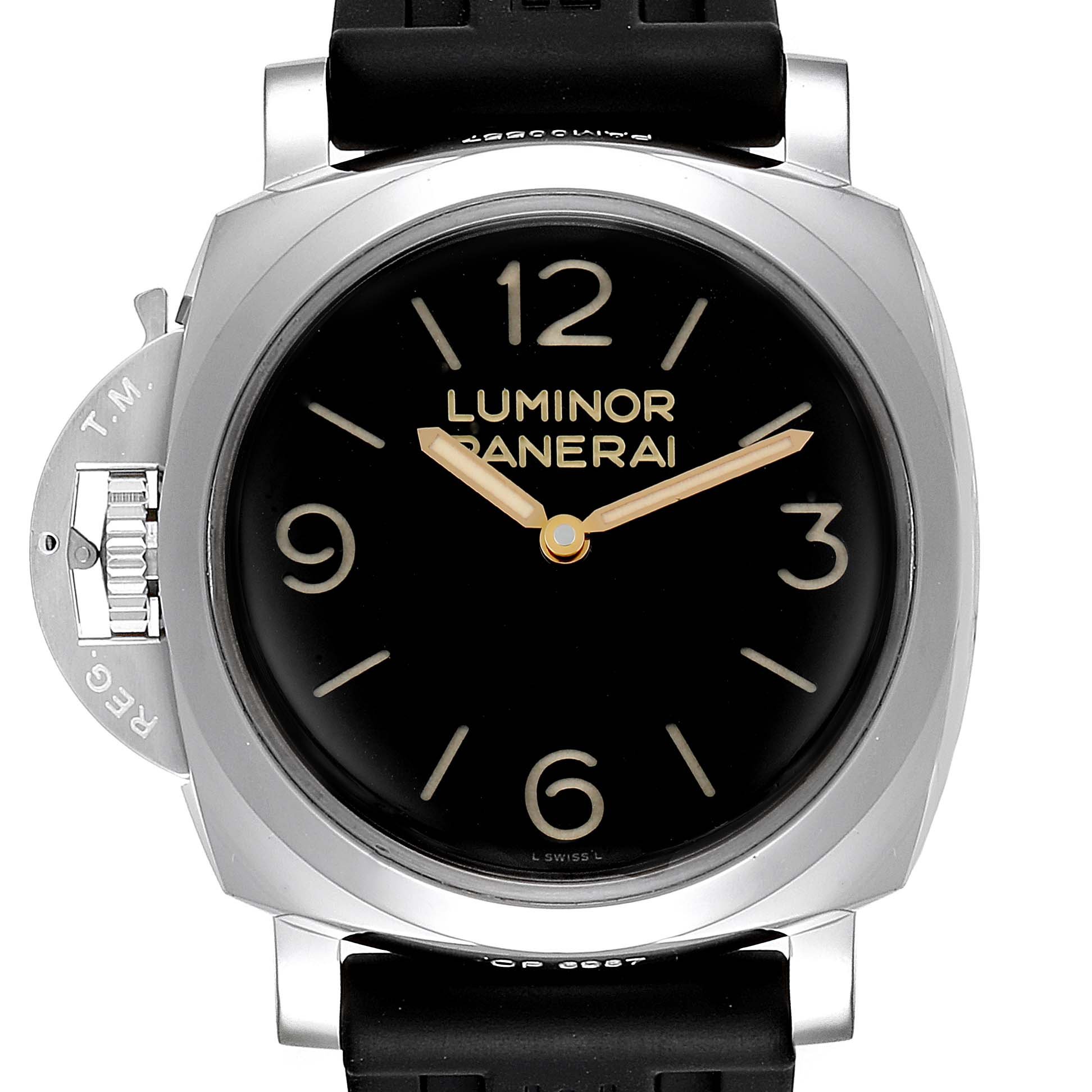 Panerai Luminor 1950 Acciaio 47mm 3 Days Left-handed Watch PAM00557
