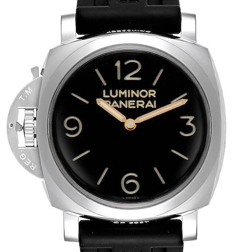 Photo of Panerai Luminor 1950 Acciaio 47mm 3 Days Left-handed Watch PAM00557