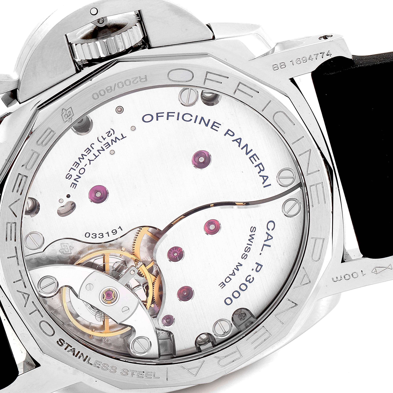 Panerai Luminor 1950 Acciaio 47mm 3 Days Left-handed Watch PAM00557 SwissWatchExpo