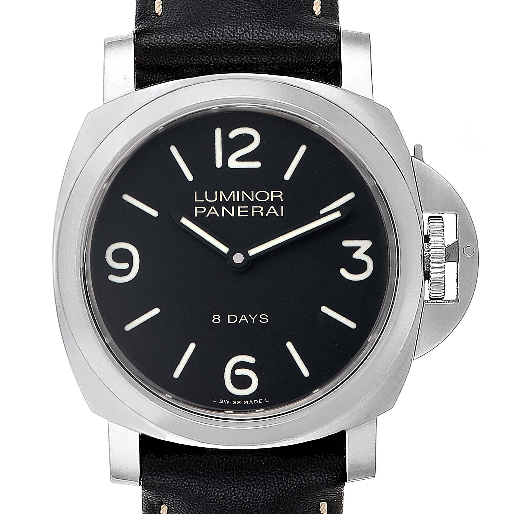 Panerai Luminor Base 8 Days Acciaio 44mm Watch PAM560 PAM00560