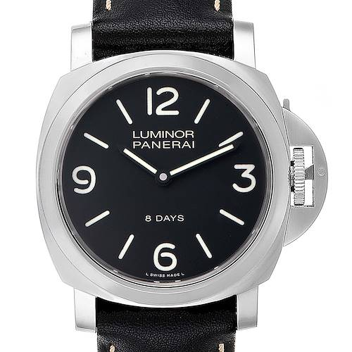 Photo of Panerai Luminor Base 8 Days Acciaio 44mm Watch PAM560 PAM00560