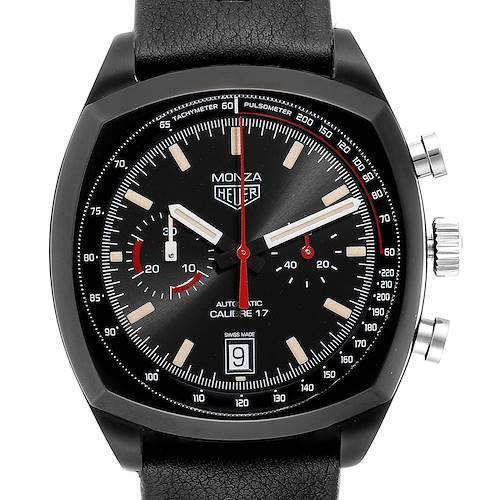 Photo of Tag Heuer Monza Heitage Calibre 17 Titanium PVD Limited Watch CR2080 Unworn