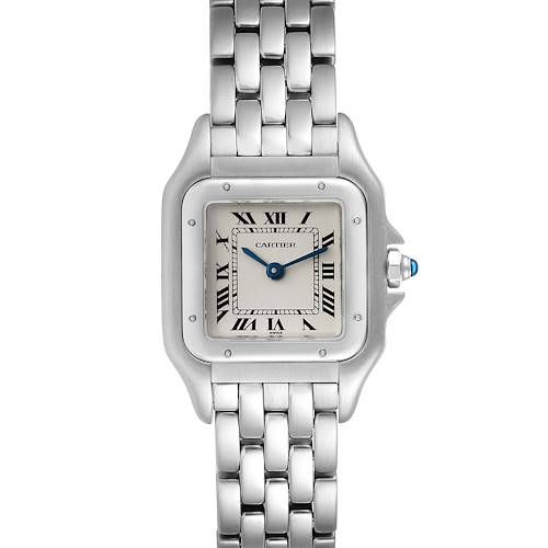Photo of Cartier Panthere Ladies Small Stainless Steel Watch W25033P5 Service Papers