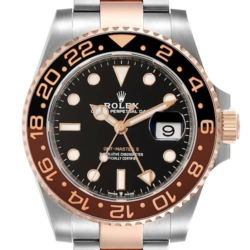 Photo of Rolex GMT Master II Steel Everose Gold Mens Watch 126711 Unworn