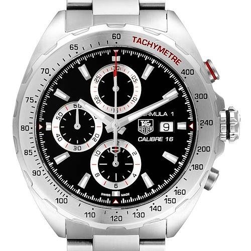 Photo of Tag Heuer Formula 1 Chronograph Steel Mens Watch CAZ2010