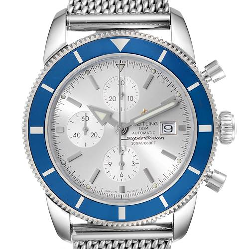 Photo of Breitling SuperOcean Heritage Chrono 46 Steel Mens Watch A13320 Box Papers