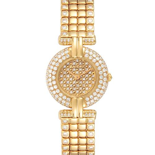 Photo of Cartier Colisee Yellow Gold Diamond Limited Edition Ladies Watch