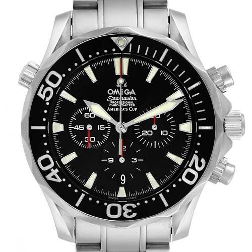 Photo of Omega Seamaster 300M Chronograph Americas Cup Watch 2594.50.00 Card