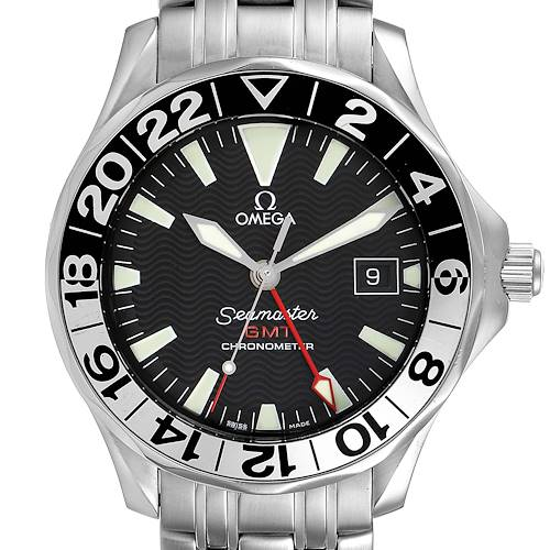 Photo of Omega Seamaster GMT 50th Anniversary Steel Mens Watch 2534.50.00 Card