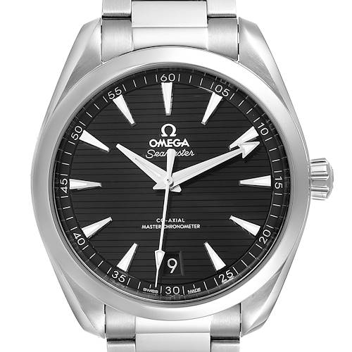 Photo of Omega Seamaster Aqua Terra Black Dial Watch 220.10.41.21.01.001 Box Card