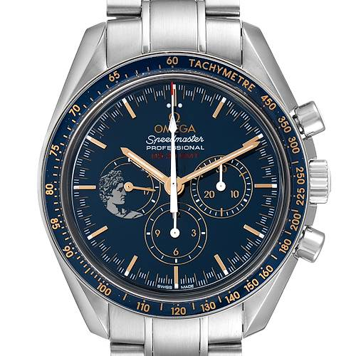Photo of Omega Speedmaster Apollo 17 LE Blue Dial Moonwatch 311.30.42.30.03.001