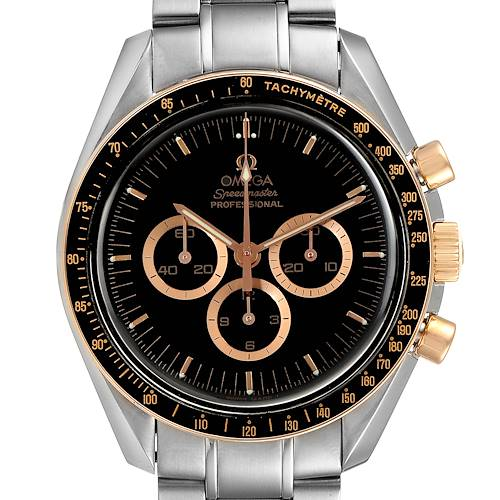 Photo of Omega Speedmaster Professional Steel Red Gold MoonWatch 3366.51.00 Box Card