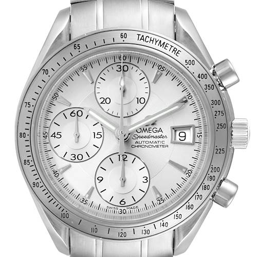 Photo of Omega Speedmaster Silver Dial Chronograph Mens Watch 3211.30.00