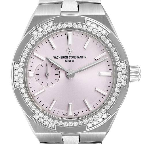 Photo of Vacheron Constantin Overseas 37 Steel Diamond Ladies Watch 2305V Unworn